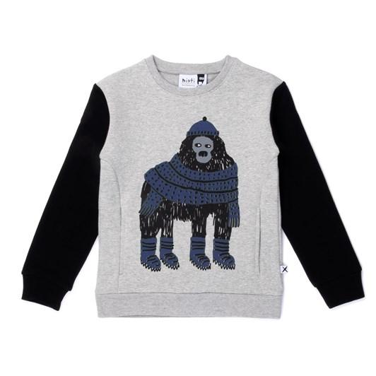 Minti Warm Gorilla Furry Crew