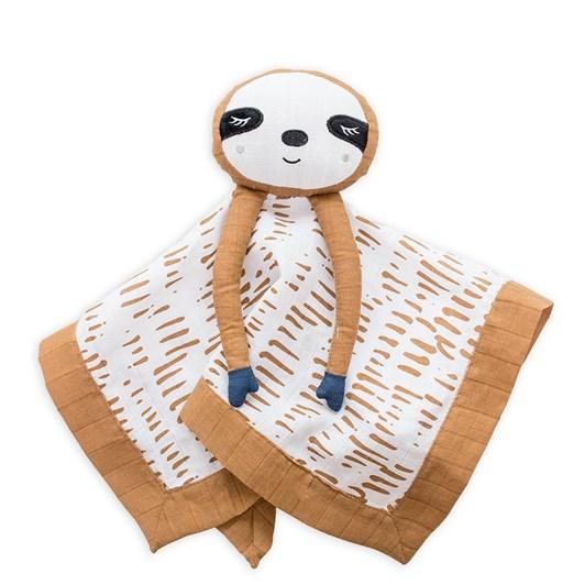 Lulujo Cotton Baby Lovies Sloth