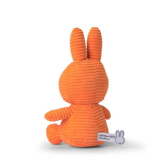 Miffy Sitting Corduroy Orange 23Cm