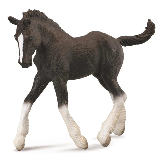 CollectA Shire Horse Foal Black