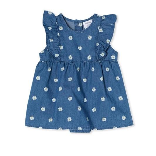 Milky Daisy Baby Dress Chambray
