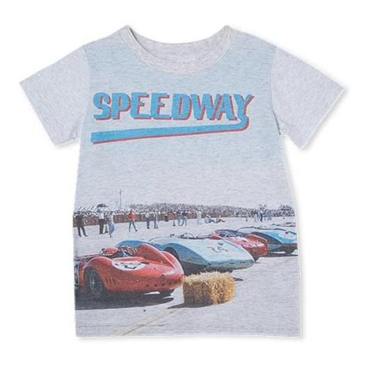 Milky Speedway Tee Silver Marle 8-12Y