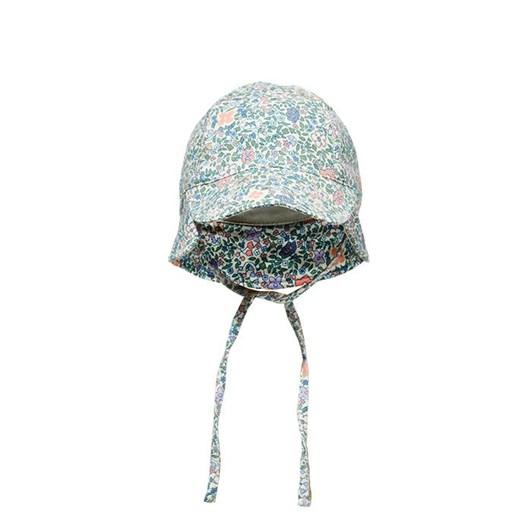 Milky Vintage Floral Baby Hat