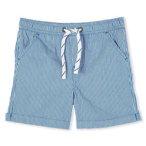 Milky Pinstripe Short Navy/White 8-12Y