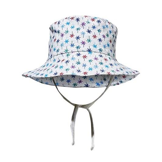 Milky Retro Palms Baby Hat
