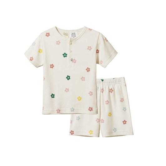 Nature Baby 2Pc Short Sleeve Cotton Pyjamas