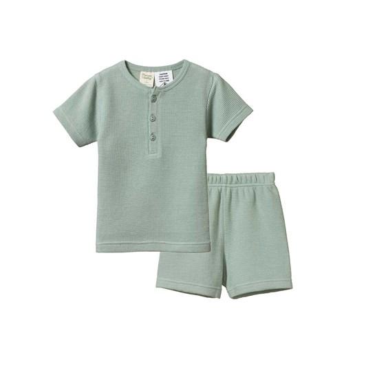 Nature Baby 2Pc Short Sleeve Pyjamas Waffle