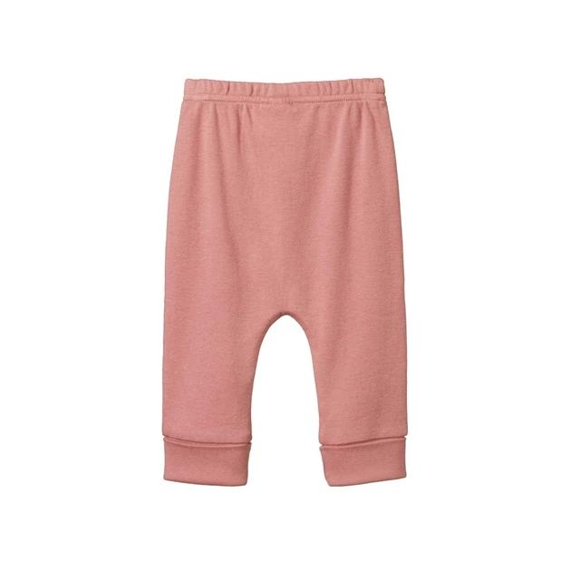 Nature Baby Drawstring Pants - cork