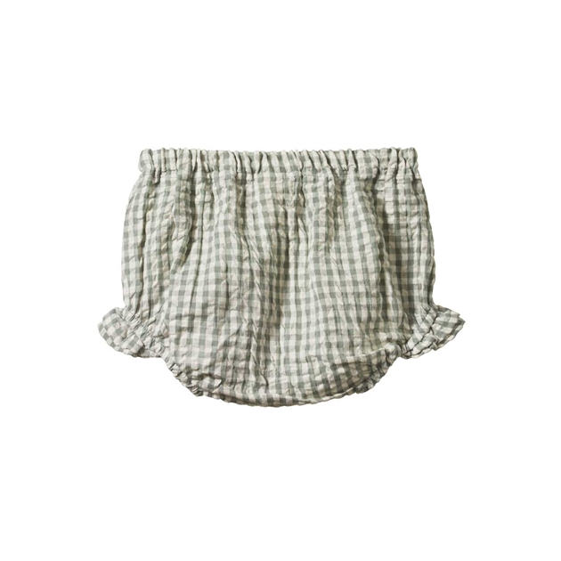 Nature Baby Gingham Petal Bloomers -