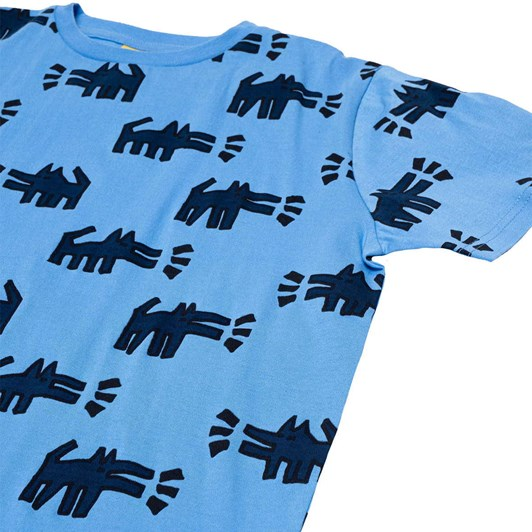 Band of Boys SS Tee Hey Dogg Repeat Oversize 3-7Y