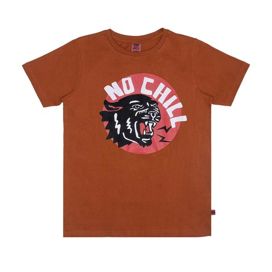 The Bandits by Band of Boys SS Tee No Chill Panther Straight Hem 3-7Y