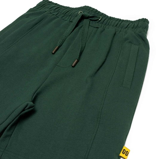 Band of Boys Shorts Happy Green Seam Front 3-7Y