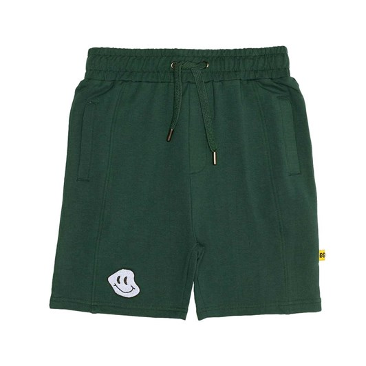 Band of Boys Shorts Happy Green Seam Front 8-10Y
