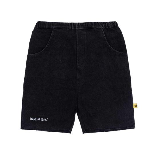 Band of Boys Shorts Black Relaxed Denim 8-10Y