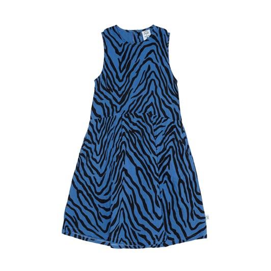 GRLFRND by The Girl Club Dress Tiger Stripe Singlet Blue 3-7Y