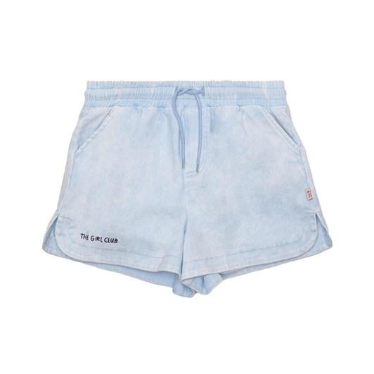 The Girl Club Shorts Denim Simple Blue 8-10Y