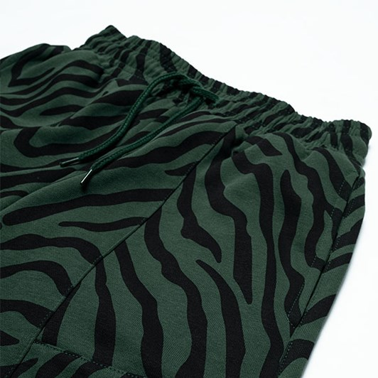 GRLFRND by The Girl Club Shorts Tiger Stripe Panel Green 8-12Y
