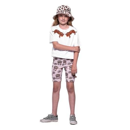 The Girl Club Leopard Print Bucket Hat Cream One Size