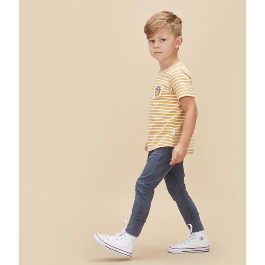 Huxbaby Digi Smile Stripe T-Shirt 3-5Y