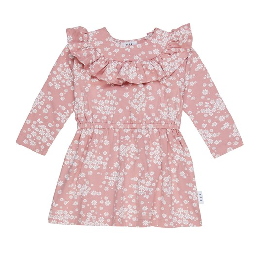 Huxbaby Floral Frill Neck Dress 1-2Y