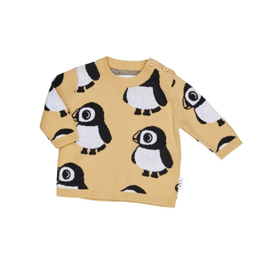 Huxbaby Puffin Knit Jumper 3M-2Y