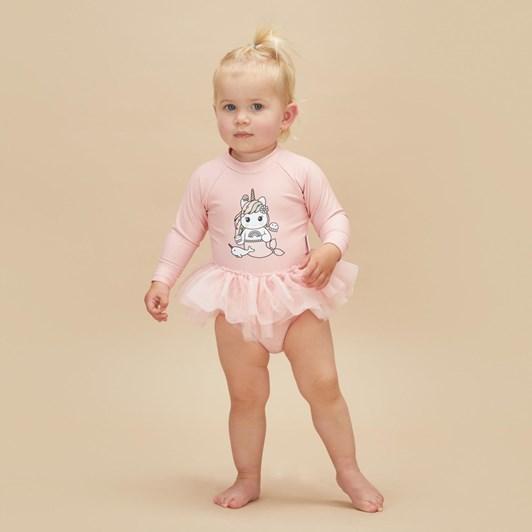 Huxbaby Mermaid Unicorn Ballet Swimsuit 3M-2Y