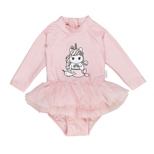 Huxbaby Mermaid Unicorn Ballet Swimsuit 3-5Y