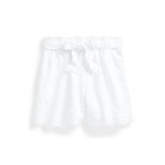 Polo Ralph Lauren Belted Eyelet Cotton Pull-On Short 8-14Y