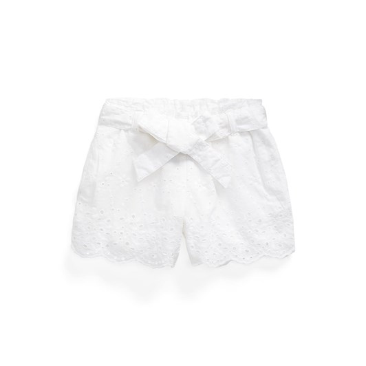 Polo Ralph Lauren Belted Eyelet Cotton Pull-On Short 2-4Y