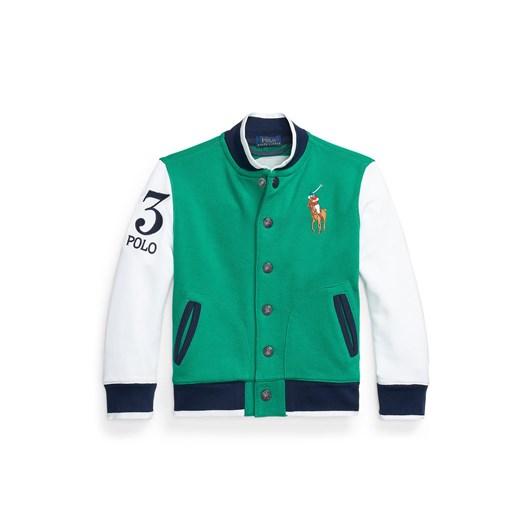 Polo Ralph Lauren Twill Terry Baseball Jacket 2-4Y