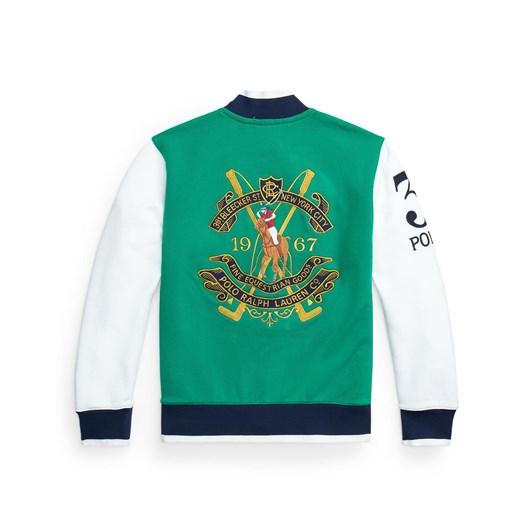Polo Ralph Lauren Twill Terry Baseball Jacket