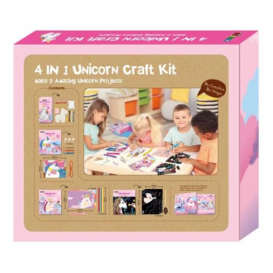 Avenir 4 in 1 Unicorn Craft Activity Kit