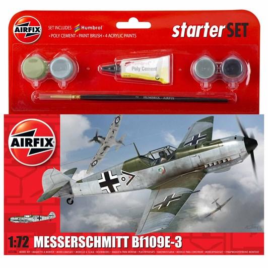 Airfix Messerschmitt Bf109E-3 Starter Set 1:72