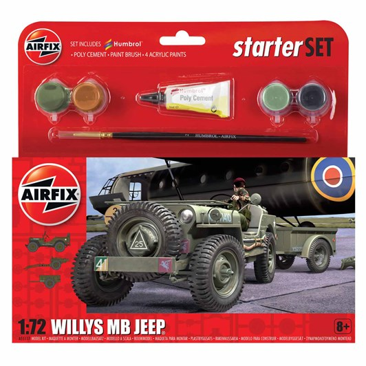 Airfix Willys Mb Jeep