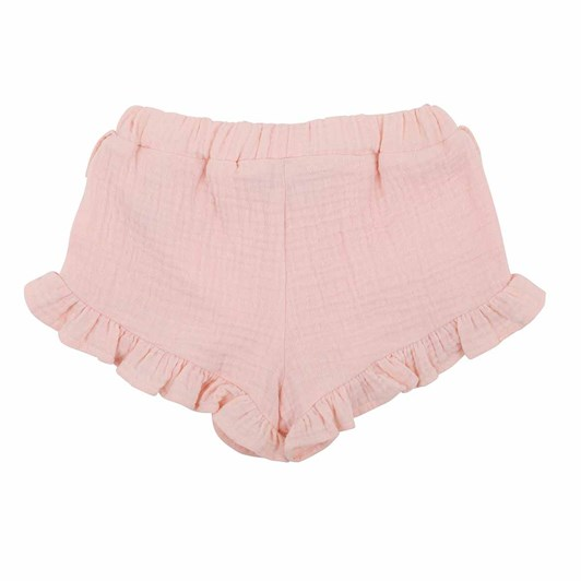 Bebe Pale Pink Crinkle Shorts