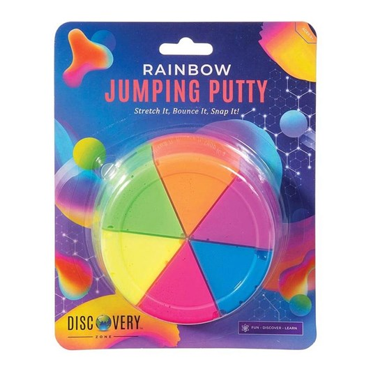 Is Gift Discovery Zone Rainbow Jumping Putty