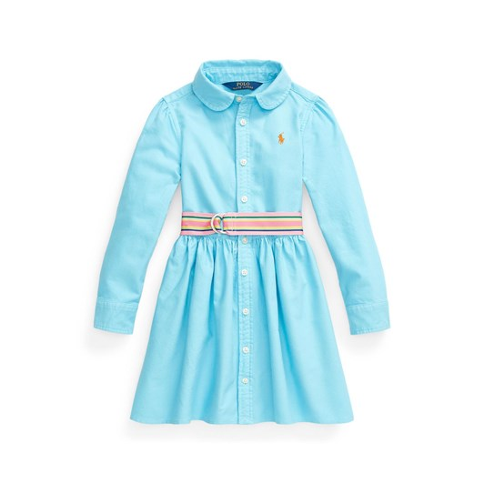 Polo Ralph Lauren Belted Cotton Oxford Shirtdress 5-6Y