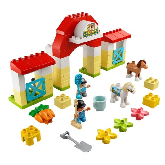 LEGO DUPLO Horse Stable and Pony Care