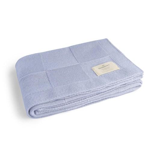 Benmore Classic Cot Blanket Sky Blue