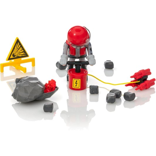 Playmobil Rock Blaster With Rubble