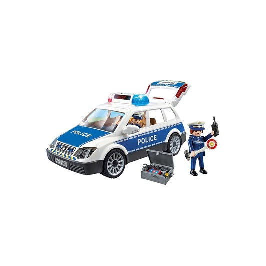Playmobil Police Car W/Lights And Sounds