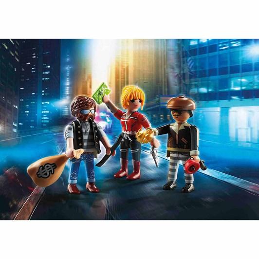 Playmobil Thief Figure Set