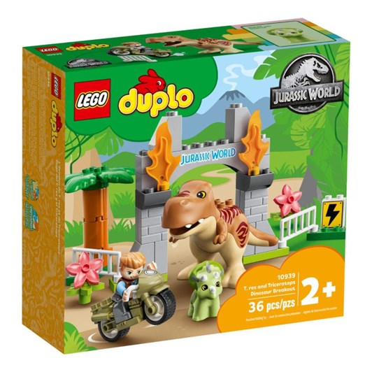 LEGO DUPLO T.Rex and Triceratops Dinos..