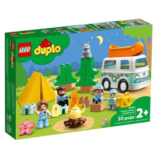 LEGO DUPLO Town Family Camping Van Adventure