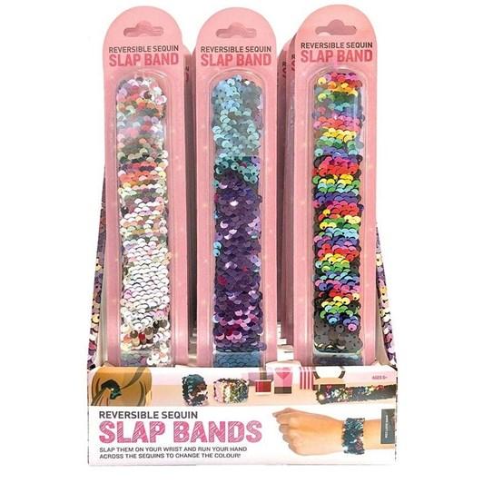 Is Gift Reversible Sequin Slap Bands