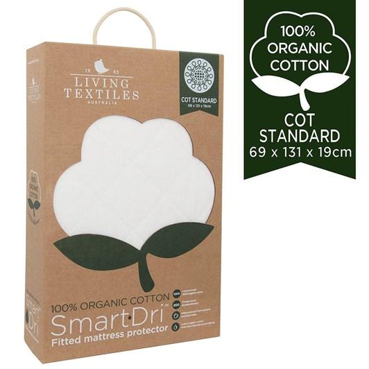 Living Textiles Organic Smart-Dri™ Waterproof Mattress Protector