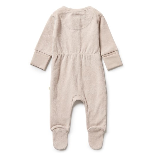 Wilson and Frenchy Organic Terry Zipsuit - Clay