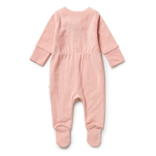 Wilson and Frenchy Organic Terry Zipsuit - Cantaloupe