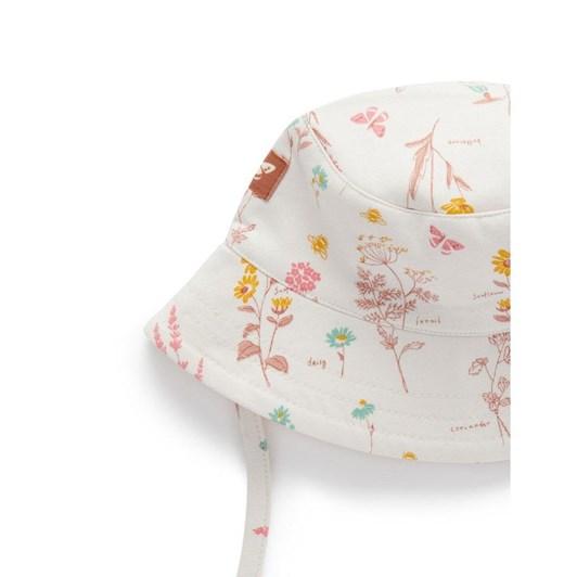 Purebaby Garden Bucket Hat