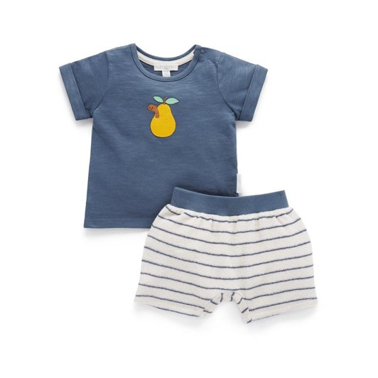 Purebaby Towelling Short And Tee Set